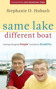 """Same Lake, Different Boat"" provides an excellent theological overview of disability issues, and provides other resources to encourage the discussion of these issues."